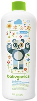 BabyGanics alcohol-free foaming hand sanitizer refill