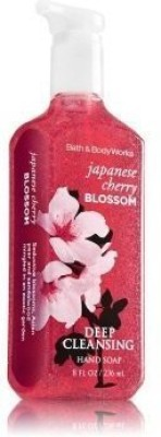 Bath & Body Works japanese cherry blossom deep cleansing hand soap