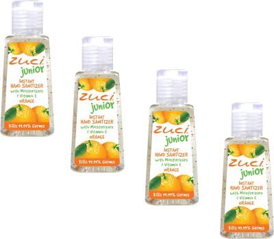 Zuci Junior Orange (30 ml)- Pack of 4 Hand Sanitizer