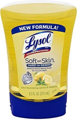 Lysol no touch automatic hand soap refill