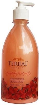Terrai Natural Strawberry Liquid Soap Hand Wash