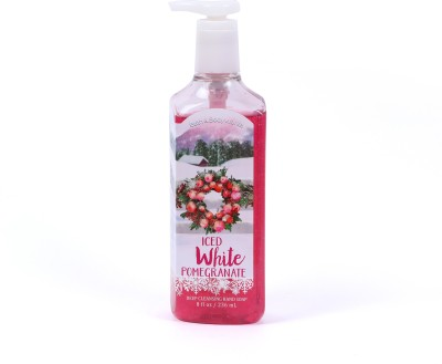Bath & Body Works Iced White Pomegranate Deep Cleansing Hand Wash