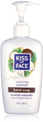 Kiss My Face moisture liquid hand soap, coconut pump