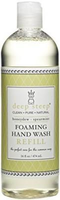 Deep Steep foaming hand wash refill, honeydew spearmint