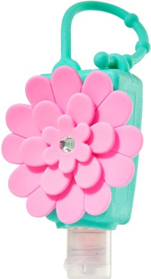 Moments Hot Pink Chrysanthemum Silicon Holder for 29ml Bottle Hand Sanitizer