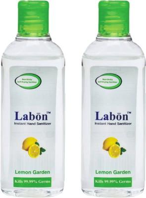Labon Instant - Combo Pack of 2 - 110 ML Lemon Garden (110 ML x 2 Packs) Hand Sanitizer