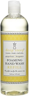 Deep Steep foaming hand wash refill, grapefruit bergamot