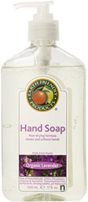Earth Friendly Products hand soap, lavender bottle (pack of 6)