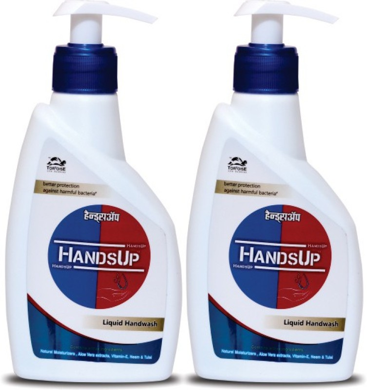 HandsUp Liquid Hand Wash - 2 Hand Wash(450 ml)