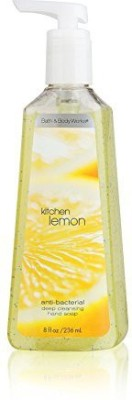 Bath & Body Works kitchen lemon 8.0 anti-bacterial deep cleansing hand soap