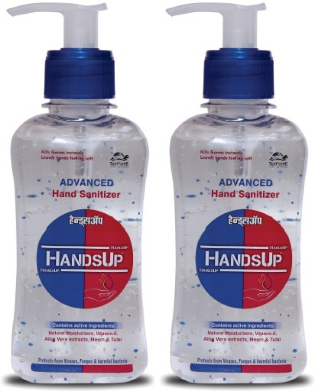 HandsUp Advanced Hand Sanitizer - 2 Hand Sanitizer(440 ml)