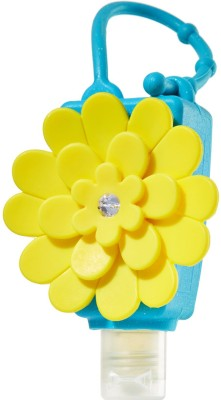 Moments Yellow Chrysanthemum Silicon Holder For 29ml Bottle Hand Sanitizer