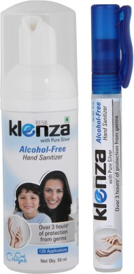 Klenza Klenza Alcohol Free Cool Cologne Pack Hand Sanitizer