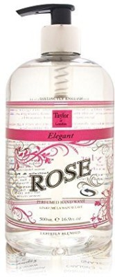 Taylor Of London elegant rose by perfumed hand wash