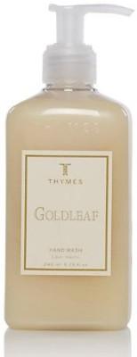 Thymes hand wash, goldleaf bottle