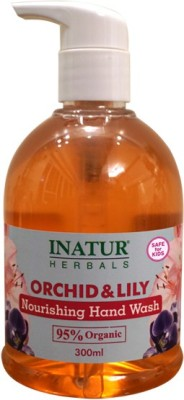 Inatur Herbals Orchid & Lily Hand Wash
