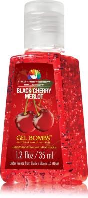 November Bloom Black Cherry Merlot Frangrance Hand Sanitizer