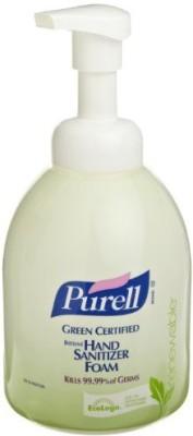 Purell 5791-04 green certified instant hand sanitizer foam, 535 ml pump bottle (case of 4)