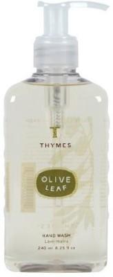 Thymes hand wash, olive leaf pump bottle