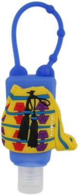 Tootpado Silicone (Travel Bag Design) - Blue - Bottle Shampoo Face for Kids Hand Wash & Hand Sanitizer