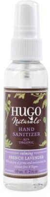 Hugo Naturals hand sanitizer, french lavender, 2 ounce