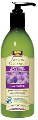 Avalon Organics glycerin hand soap - lav...