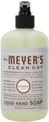 Mrs. Meyer's Clean Day liquid hand soap, lavender bottles (case of 6)