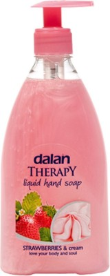 Dalan Therapy Liquid Soap with Strawberry & Cream Fragrance Hand Wash