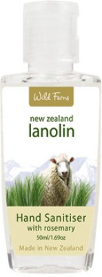 Wild Ferns Lanolin with Rosemary Hand Sanitizer