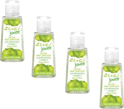 Zuci Junior Green Apple (30 ml)- Pack of 4 Hand Sanitizer