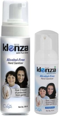 Klenza Klenza Alcohol Free Cool Colgne Pack Hand Sanitizer