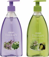Dalan Therapy Liquid Soap Combo Pack of Lavender & Thyme and Rosemary & Olive Oil(800 ml)