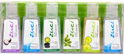 Zuci Zuci Assorted Combo Pack -Pack of 6 Hand Sanitizer