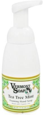Vermont Soapworks foaming hand soap tea tree mint