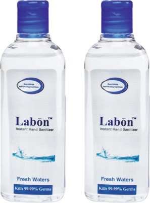 Labon Instant - Combo Pack of 2 - 110 ML Fresh Waters (110 ML x 2 Packs) Hand Sanitizer