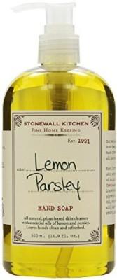 Stonewall Kitchen hand soap, lemon parsley