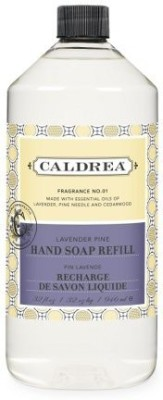 Caldrea liquid hand soap refill, lavender pine, 32-ounce