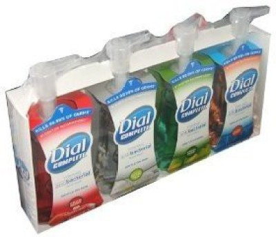 Dial complete foaming anti-bacterial hand wash variety 4-pack - 7.5 each