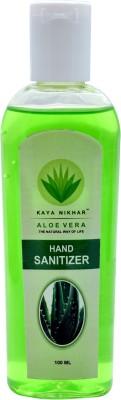 Kaya Nikhar Aloe Vera Sanitizer Hand Sanitizer(100 ml)