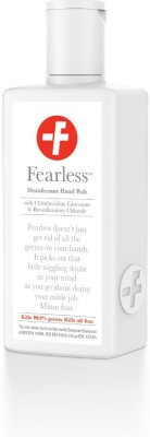 Fearless Pharma Disinfectant Hand Rub- 100 ml Flip Top Bottle Hand Sanitizer