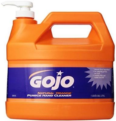 Gojo 0955 natural orange pumice hand cleaner
