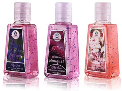 Blooms Berry combo- Floral Bouquet Hand Sanitizer