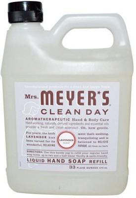Mrs. Meyers liquid hand soap refill 33 lavender scent