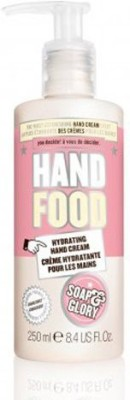 Soap & Glory soap and glory hand food hand cream lotion hydrating hand cream pump