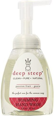 Deep Steep foaming hand wash, passion fruit guava, 8 ounce