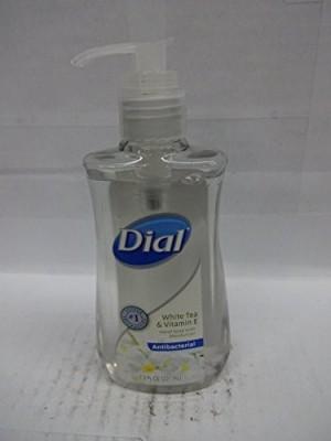 Dial hand soap, antibacterial, white tea & vitamin e (3 pack)