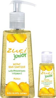 Zuci Pack Of 250 Ml & 30 Ml Hand Sanitizer- Mango Hand Sanitizer
