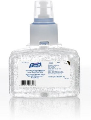 Purell 1303-03 advanced green certified instant hand sanitizer, 700 ml refill (pack of 3)