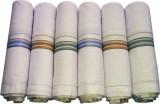 Flora White Handkerchief (Pack of 6)