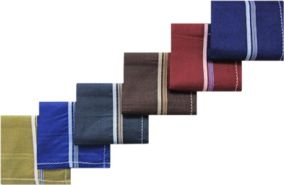RC. ROYAL CLASS Colored Borders Handkerchief